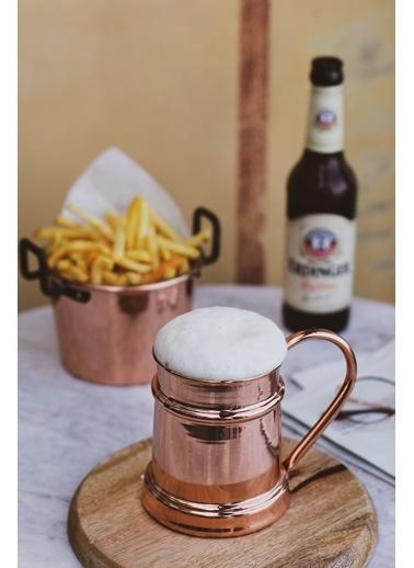 Bakır İstanbul Musketeers Bakır Bira Bardağı Renkli
